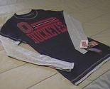 Shirt t shirt  ls soffe buckeyes black red   grey  medium new with tags  01 thumb155 crop
