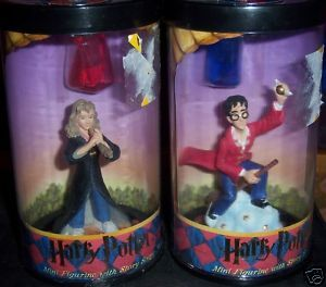Harry Potter & Hermione Mini Figurines Story Scope NEW