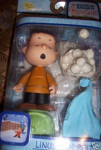 Peanuts Linus Van Pelt Christmas Figure Blanket Charlie Brown Christmas NEW