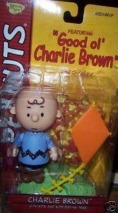 Peanuts Charlie Brown Figure with Kite & Tree NEW