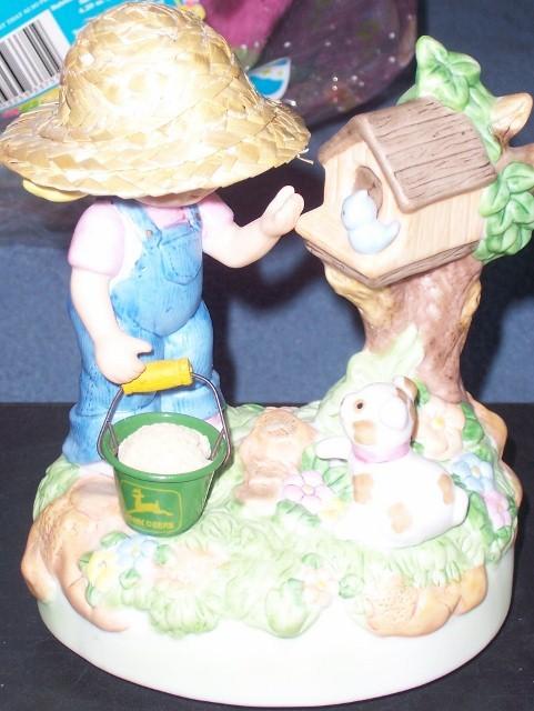 John Deere Sending You my Deerest Wishes Music Figurine