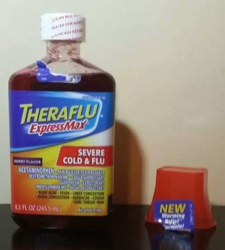 Theraflu Express Max Severe Cold Flu Berry And 50 Similar