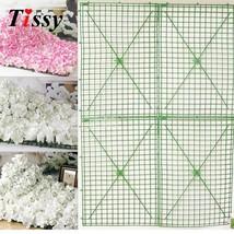 Tissy 5PCS 60x40cm Plastic Row Bent Flower Wall Wedding - $35.95