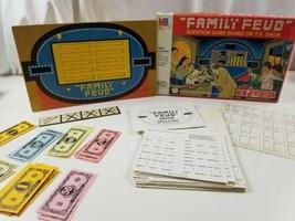Vintage Family Feud Board Game 1977 3rd Edition Milton Bradley  - $20.43