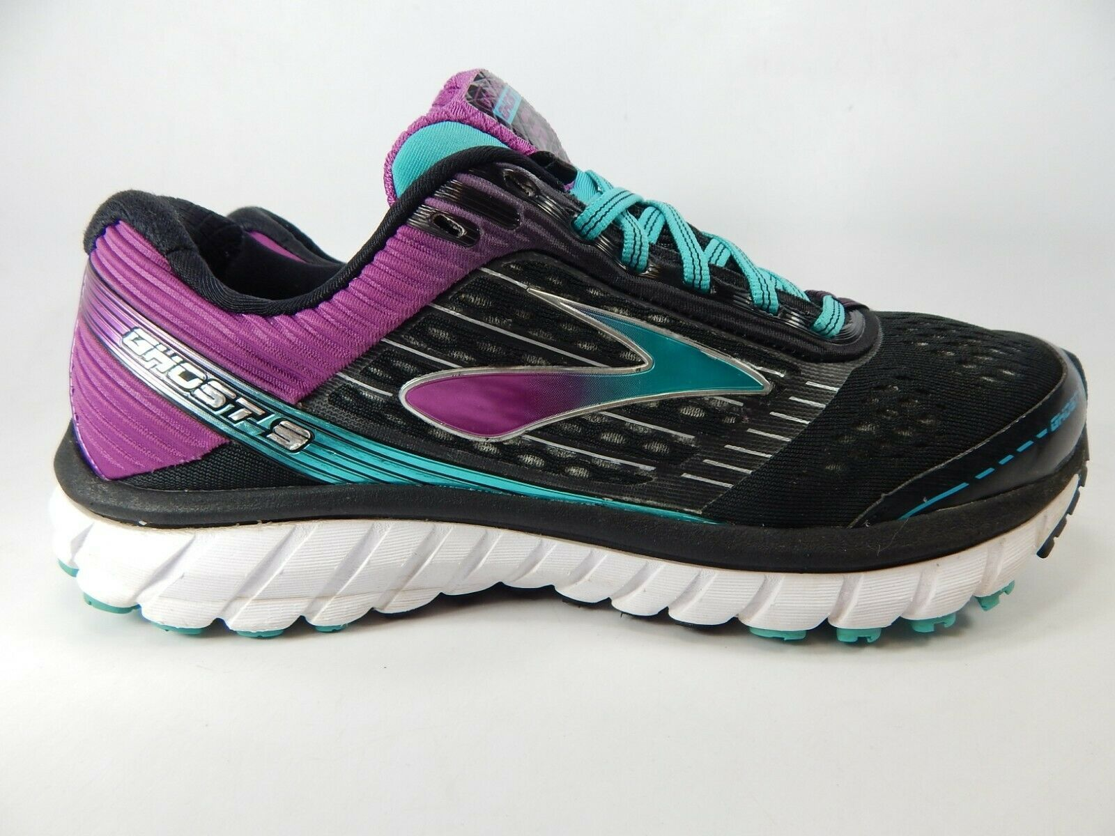 Brooks Ghost 9 Size US 10 M (B) EU 42 Women's Running Shoes Black 1202251B092 image 1