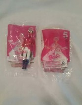 NIP MCDONALDS BARBIE NUTCRACKER  # 5 & # 6 KEN & BARBIE 2001 - $12.50