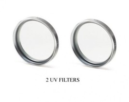 2 UV Filters for Panasonic SDRH90K SDRH90E HDC-SD100P SDRH80K HDCSD100PC... - $10.68