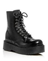 Jeffrey Campbell Women's Platform Combat Boots 10M Black NEW - $97.99