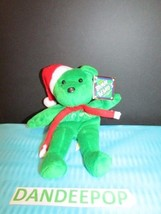 Salvino's Bamm Beano's Holiday Bear #10 Clipper Jones Issue Date 1998 With Tags - $12.86