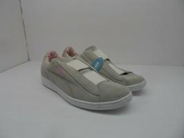 Puma Women's Vikky Slip Whisper Casual Shoe White/Pink Size 8M - $28.49