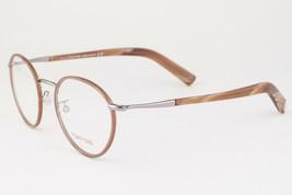 Tom Ford 5332 045 Light Ruthenium Brown Eyeglasses TF5332 045 49mm - $136.22
