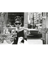 Breakfast at Tiffany's Poster 24x36 in Audrey Hepburn Holly Golightly Wi... - $16.99