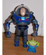2001 Disney Pixar Search & Rescue Buzz Lightyear Talking Figure & Alien - $64.99