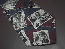 American Movie Classics Neck Tie AMC Gone With The Wind Photographs from Movie - $9.99
