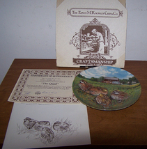 The Quail Brand New Boxed Knowles Collector Plate - $15.00