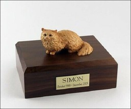 Angora Cat Figurine Brown Cremation Urn Available 3 Different Colors & 4... - $169.99+