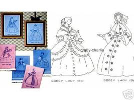 Godey's Ladies-1860-1861 embroidery transfer Mc1791 - $5.00