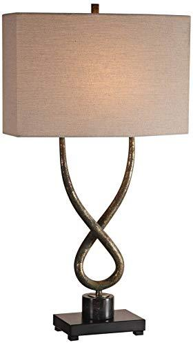 Uttermost Talema Twisted Steel Base Table Lamp image 2