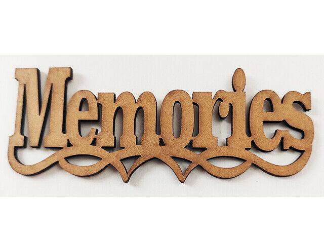 Recollections Memories Chipboard Ephemera, 3 Pack #468232