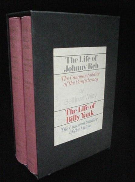 Civil War Life of Johnny Reb & Billy Yank 2 Book Boxed Set