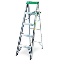 5-Ft. Step Ladder, Aluminum, Type II, 225-Lb. Duty Rating - $102.95