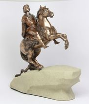 PETER THE GREAT FIGURINE BRONZE PATINA - $59.99