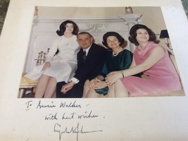 LYNDON B. JOHNSON - INSCRIBED FAMILY PHOTOGRAPH SIGNED - $645.93