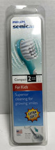 Philips Sonicare for Kids replacement toothbrush heads, 2-pk Compact Ext... - $12.19