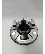 Ryan's World UFO Spaceship Black Silver Sounds And Lights Up Bonkers Toys  - $13.81