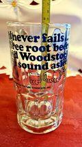 "Vintage SNOOPY Woodstock Peanuts ""Too Much Root Beer"" GLASS DRINKING MUG 1965 image 5"