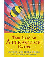 The Law of Attraction Cards Hicks New Sealed - $15.15