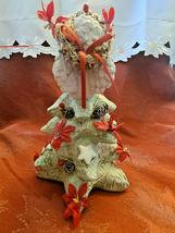 1994 Dreamsicles Christmas Cherub On Christmas Tree Signed Figurine Cast Art image 3