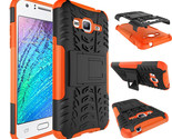 shockproof case armor stand cover for samsung galaxy j3 orange p20151215074842855 thumb155 crop