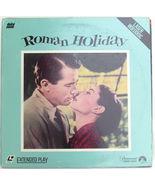 Roman Holiday on Laserdisc Starring Gregory Peck Audrey Hepburn - $6.00