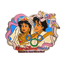 Aladdin Disney Lapel Pin: Jasmine + Aladdin Wedding - $24.90