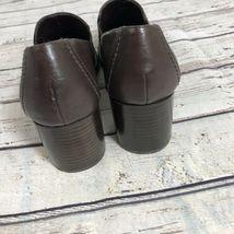Nine West Brown Block Heel Loafer - Size 7 image 8