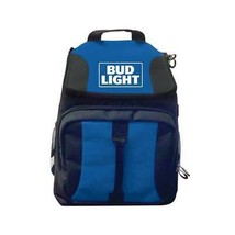Bud Light Cooler Backpack Blue - $38.98