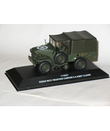 Dodge WC51 Weapons Carrier U.S. Army closed 1/43 die cast model car (Rare) - $84.99