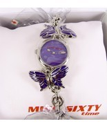 Purple  Sixty Butterfly Watch - $69.75