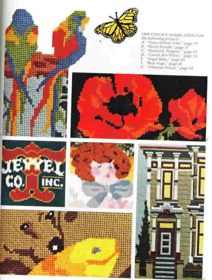 A Sunset Book Vintage Needlepoint Techniques and Projects
