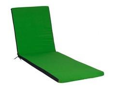 JARDIN PRIVE Coussin bain de soleil Colors - Top Vert 186 x 55 5 cm 010042  - $62.47