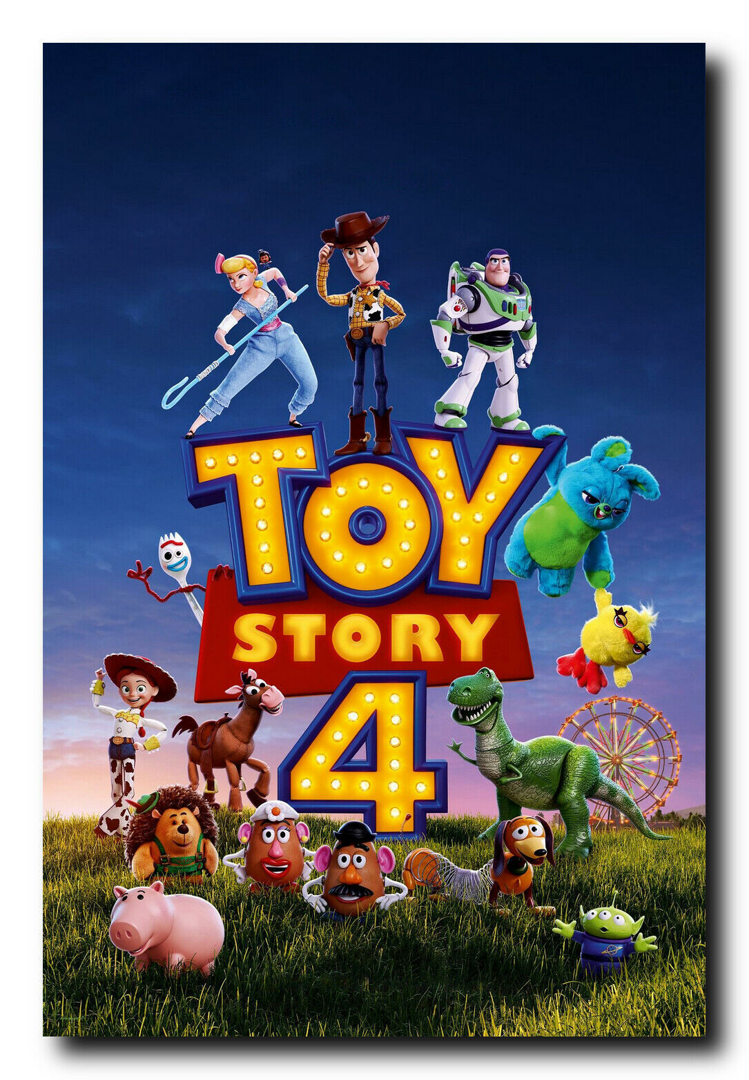 Primary image for Toy Story 4 Movie Poster (24x36)