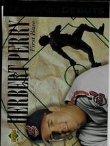 1994 Upper Deck Baseball, #519, Herbert Perry, Cleveland Indians, Diamond Debut - $0.99