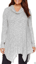 St. John's Bay Long-Sleeve Hatchi Tunic Top Plus Size 2X New Msrp $48.00 - $19.99