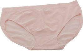 Breezies Diamond Comfort Seamless Hi-Cut Brief Set 3 Pink Dogwood 2X NEW... - $14.83
