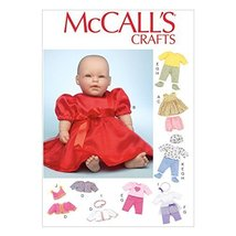 McCall Pattern Company M7066 Clothes and Accessories for 11-Inch to 12-Inch and  - $14.21