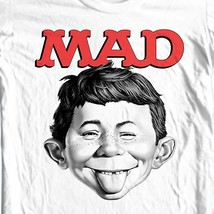MAD Magazine Alfred E Newman T-shirt  retro 1970's funny graphic tee WBT349 image 1