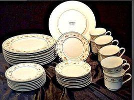 Abingdon Porcelain China Pink Roses AA18 - 1152 Vintage 33 Piece Set image 7