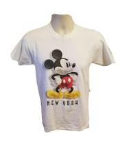 Walt Disney World Mickey Mouse New York Adult Small White TShirt - $19.80