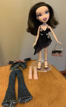 Bratz Girlz Girls Nite Out Dana With Some Accessories CUT HAIR 2001 Doll... - $63.54